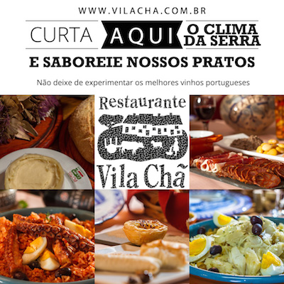 Restaurante Vila Chã Campos do Jordão SP